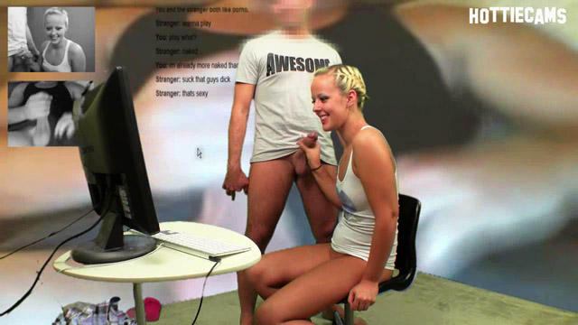 Searching random chat sites for partners who are interested in the topic of sex, Jenna and Steve located an older guy who was more than happy enough to boss @JennaSuvari around so he could pop his load all over the place. Jenna knows she's the hottie on the hottiecam and starts off with an amazing blowjob on Steve's willing dick.
